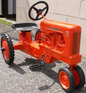 Hard To Find Allis Chalmers WD 45 Pedal Tractor NIB Made In USA