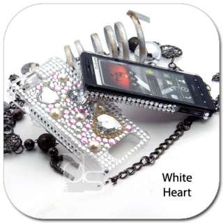 BLING Rhinestone Skin Case Verizon Motorola Droid X2