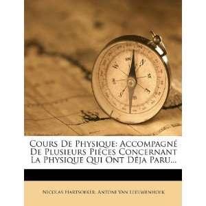 ) (9781247693064): Nicolas Hartsoeker, Antoni Van Leeuwenhoek: Books