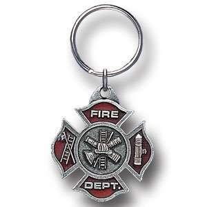 Fire Department Premium Sculpted Maltese Cross Automotive