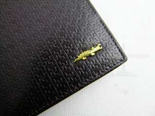 genuine leather long Wallet amazing abstract purse friends gift