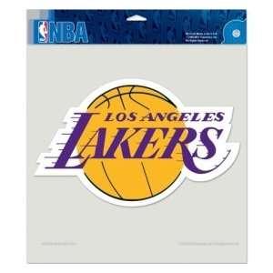 Caseys Distributing 3208584028 Los Angeles Lakers Die cut