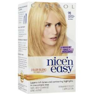 Clairol Nicen Easy Hair Color 98 Natural Extra Light