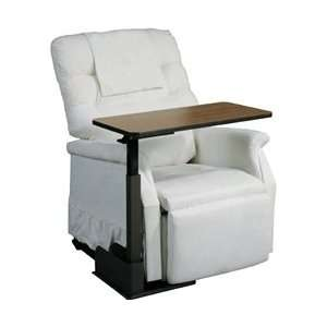 Drive Medical Deluxe Seat Lift Chair Overbed Table Health