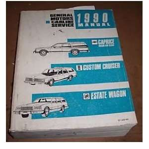 1990 Chevrolet Caprice Wagon Sedan Service Manual Oem gm