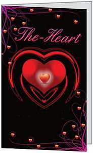 Valentines Day Husband Love Heart Wife Friend Greeting Card by