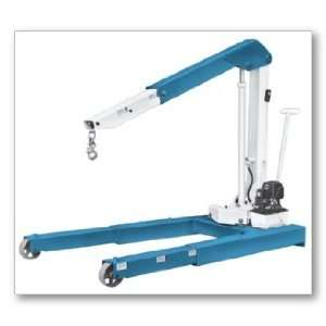 lbs Capacity Floor Crane with 2 Speed Hydraulic Hand Pump: Automotive