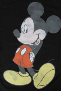 Disney T Shirt V neck Minnie OR Crew Mickey Mouse Cotton Print Tee Top
