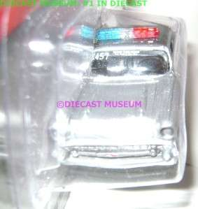 CHEVROLET CHEVY BEL AIR POLICE CAR TULSA JOHNNY LIGHTNING DIECAST 2.0