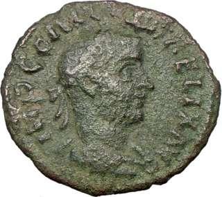 251AD Viminacium Bull Lion Legions Nice Ancient Roman Coin