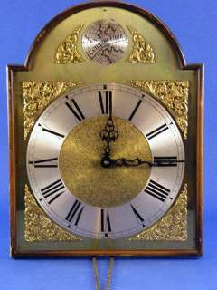 Vintage Tempus Fugit Wall Clock Weight Driven Made In West