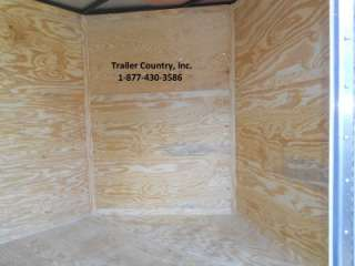 24 Custom Utility Enclosed Cargo Trailer w/ Porch + Ramp