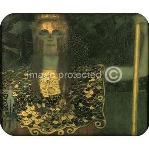 Gustav Klimt Fine Art Pallas Athene MOUSE PAD