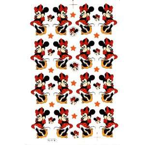 Minnie Mouse Decal Sticker Sheet P64