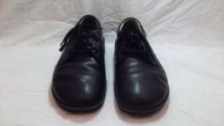 Mens Shoes Finn Comfort Germany Oxfords 44 10 Black Leather Casual
