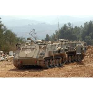 A M113 armored personnel carrier of he Israel Defense Forces