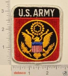 US ARMY United States EAGLE SHIELD Emblem PATCH