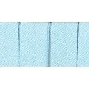 Sngl Fold Bias Tape 1/2 Inch 4 Yards Light Blue