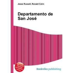 Departamento de San José: Ronald Cohn Jesse Russell: Books