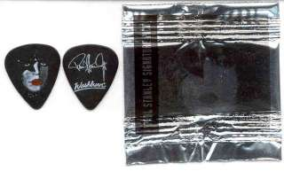 KISS Paul Stanley Washburn Guitar Pick Sealed 1998