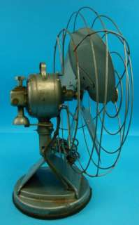 Mimar Electric Fan 416XX MP 4 Blade Large 16 Vtg Deco Space Age