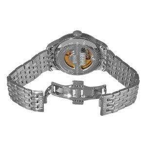Tissot Mens Le Locle Classic Black Dial Automatic Steel Wrist Watch