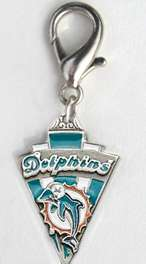 NFL Football Pewter DOG Collar CHARM Philly EAGLES