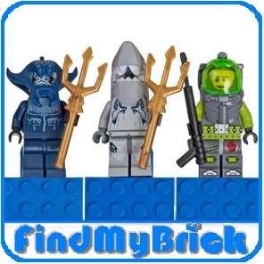 Lego Atlantis Manta Shark Spears (Magnet) 4585373 NEW