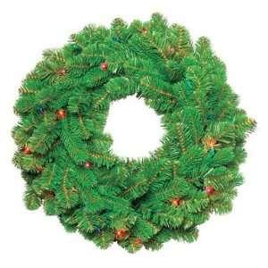 Greenfields Christmas Tree Man BOWO999344AC5 Prelit Wreath 24   Multi