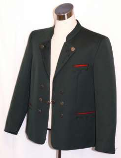 GREEN ~ WOOL Men AUSTRIA Hunting Western Sport Dinner Dress SUIT