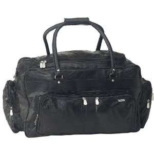 Quality Leather Travel Bag By Embassy&trade Italian Stone&trade Design