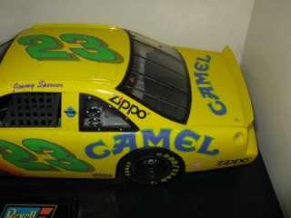 18 Revell Jimmy Spencer #23 Camel Smokin Joes Ford Nascar Car