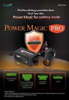 Power Magic Pro Car Black Box Vehicle Battery Discharge Prevention