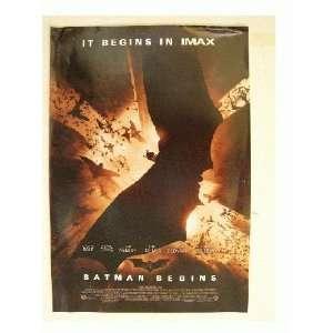 Batman Begins Poster Michael Caine Katie Holmes