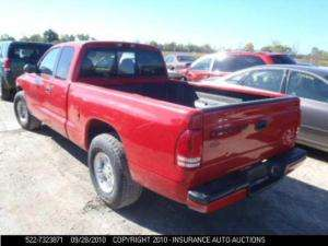 Automatic Transmission 2000 01 02 DODGE DAKOTA 2002