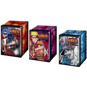Naruto Card Game Set of 3 Unstoppable Force Collector Tin