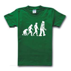 THEORY Sheldon Cooper Einstein Evolution T shirt Green Size XS XXL