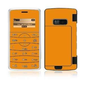 Simply Orange Decorative Skin Cover Decal Sticker for LG enV2 VX9100