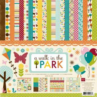 ECHO PARK PAPER CO A WALK IN THE PARK FAMILY KIDS CHILDREN 12X12