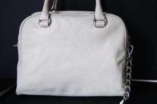 Michael Kors Joan Knox Large satchel Vanilla $328