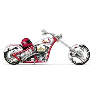 St. Louis Cardinals 2011 World Series Champions Chopper Motorcycle