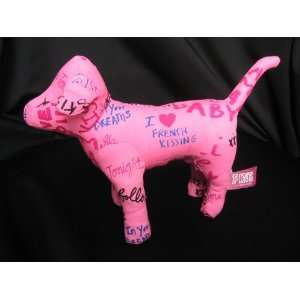 Victorias Secret 7 Plush I Love French Kissing Dog Toys