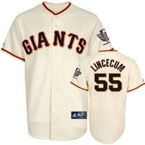 Tim Lincecum Jersey San Francisco Giants #55 Home Replica