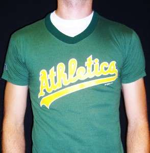 Vtg 1994 OAKLAND ATHLETICS JERSEY retro punk indie As