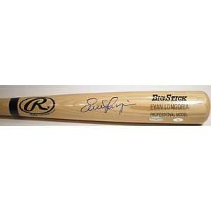 Evan Longoria Autographed Bat   Rawlings Big Stick