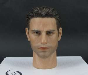 CIAN Tom Cruise 1/6 Figure Head Sculpt HeadPlay Hot Toys Top Gun @@@