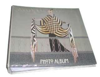 ERTE Photo Album THE BALCONY Art Deco Black Gold Gray