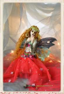 OOAK Nouveau Ball Jointed Art doll Sculpture by Sutherland