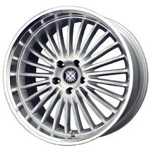 Beyern Multi Silver Machined Wheel (20x10/5x120mm