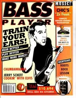 Bass Player Magazine March 1998 9/3 Jerry Scheff